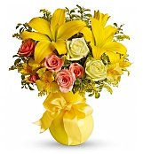 Flower Bouquets: Sunny Smiles Bouquet