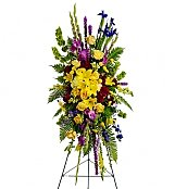 Funeral Wreaths: In Loving Memory Spray