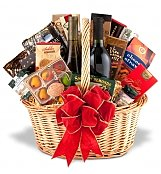 Wine & Gourmet: Premium Wine and Gourmet Basket