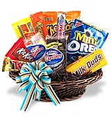 Fruit Gift Baskets: Junk Food Basket