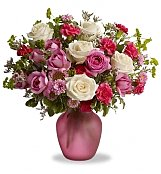Flower Bouquets: Radiant Roses for Mom